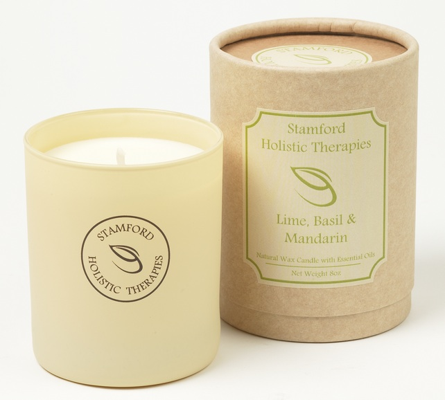 Refresh: Lime, Basil & Mandarin Aromatherapy Jar Candle