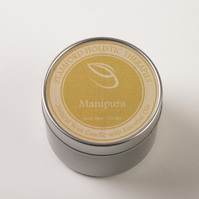 Manipura Tin Candle