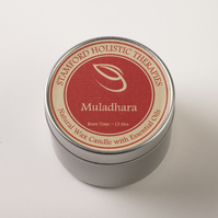 Muladhara Tin Candle