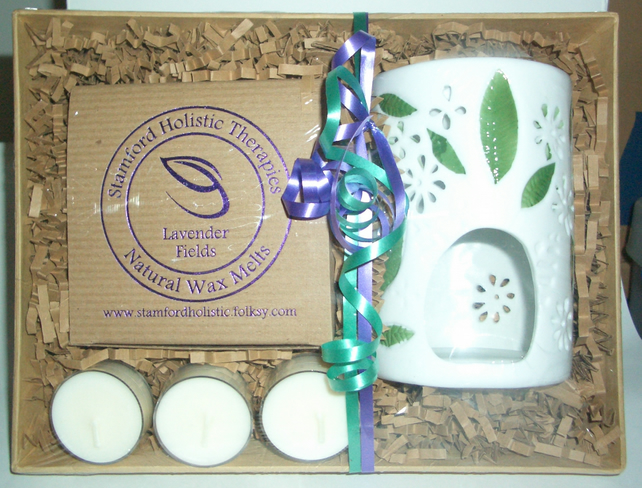 Lavender Field Botanical Wax Melt Gift Tray
