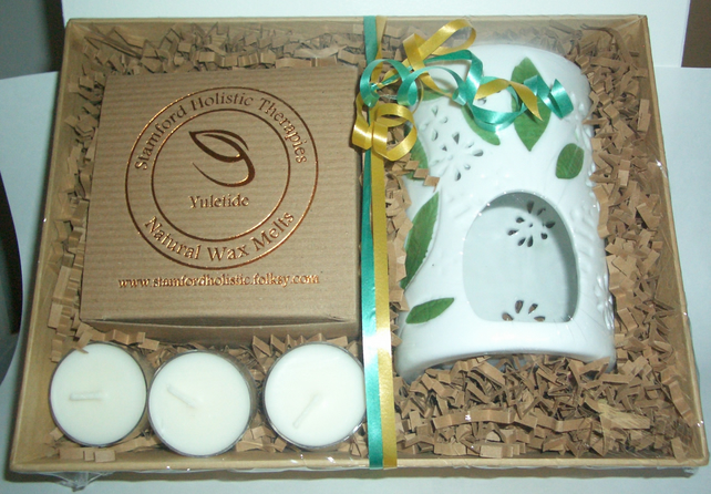 Yuletide Botanical Wax Melt Gift Tray