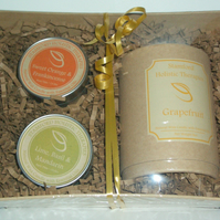 Candle Collection Gift Basket - Bespoke
