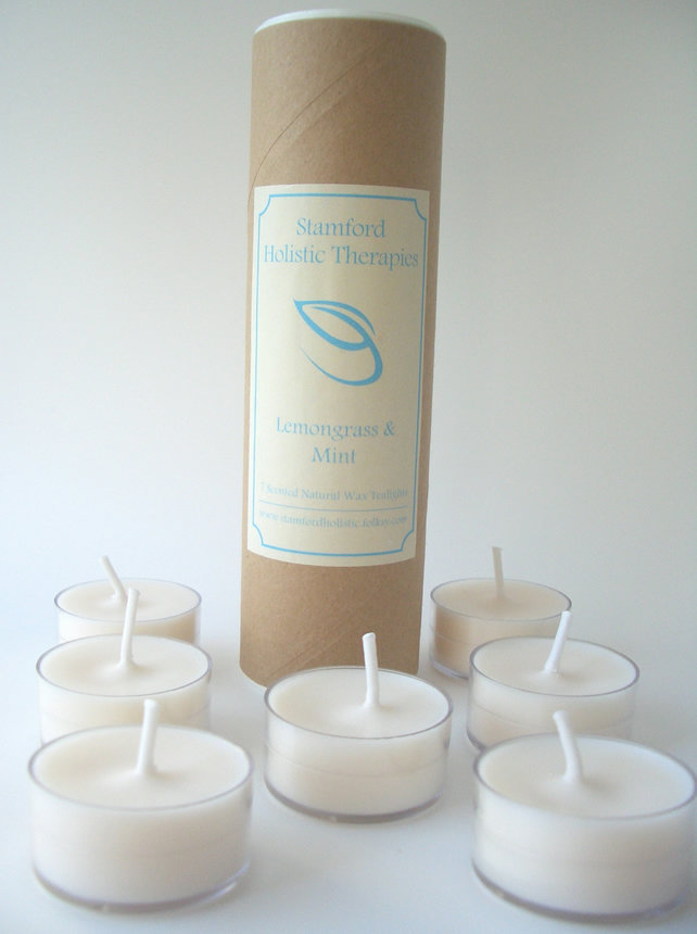 Revitalise: Lemongrass & Mint Aromatherapy Tealights