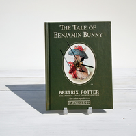 The Tale of Benjamin Bunny by Beatrix Potter book clock.
