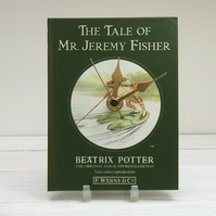 The Tale of Mr. Jeremy Fisher by Beatrix Potter book clock.