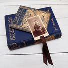 Victorian Portrait Bookmark made from a carte de visite
