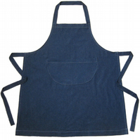 SAMPLE CLEARANCE - Womens Denim Work Apron. For Artists and Makers. No1