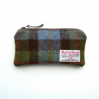Pencil case in MacLeod tartan HARRIS TWEED