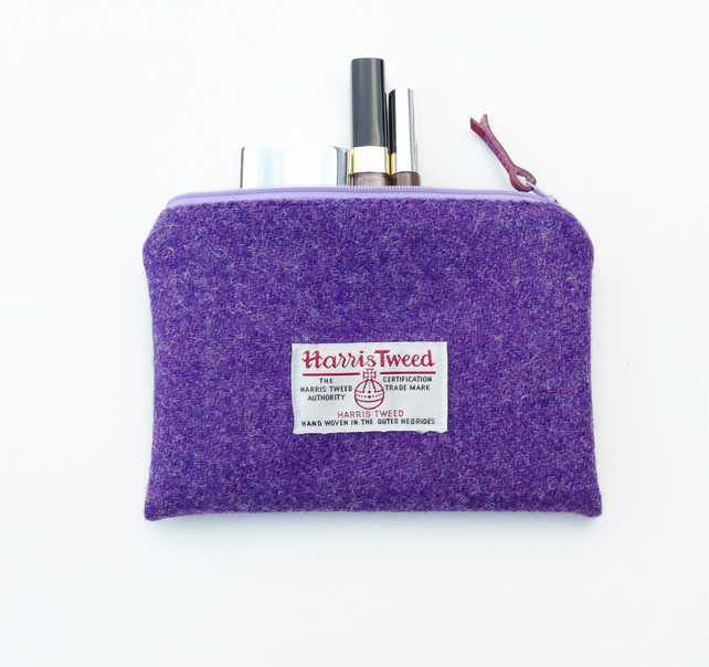 1f3f5a467f Purple makeup bag