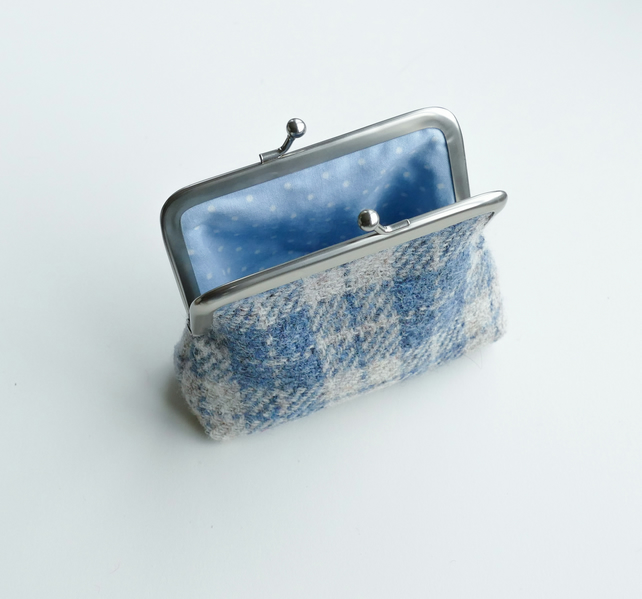 Coin purse, HARRIS TWEED