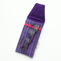 SALE: Purple glasses case