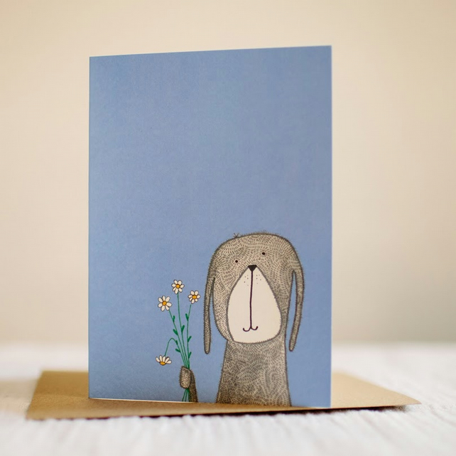 'Scruffy Dog' Card