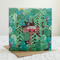 Into the Woods- Square card