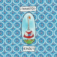 Thankyou Kindly- Square Card