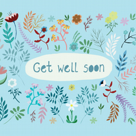 'Get Well Soon' A6 Card