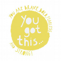 'You Got This' -Square card