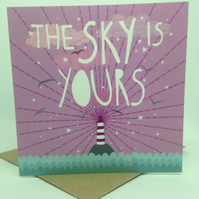 'Your Sky' Square Card