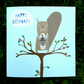 Square card- 'Squirrel'