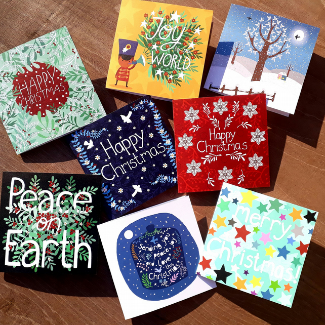 Set of 8 Christmas Cards