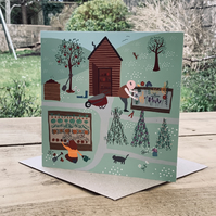 Allotment- Square Card