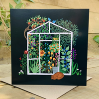 The Greenhouse- square card