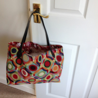 Tote colourful bag