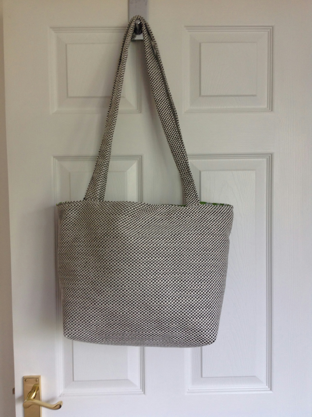 Tote tweed bag