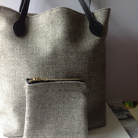 Tote herdwick bag And purse