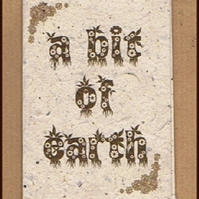A Bit of Earth - a Secret Garden mini-zine with free seeds!