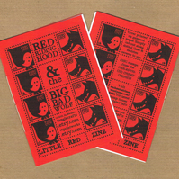 LITTLE RED ZINE - a fairytale mini zine - Big Bad Wolf, poetry, fiction & more