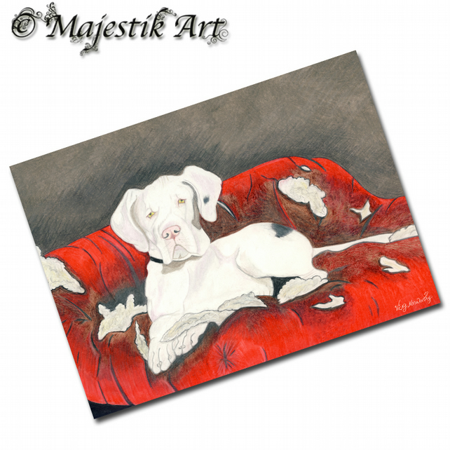 ACEO Print Great Dane CHEW TOY Dog Animal