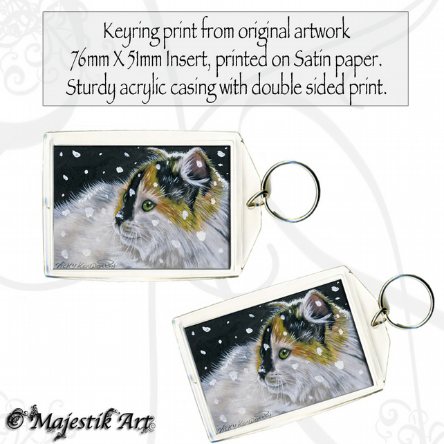 Maine Coon Keyring NOT THIS AGAIN Cat Pet Animal