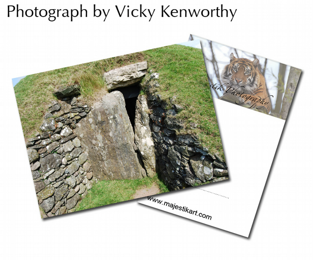 Burial Mound ACEO Print Photography by VK
