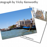 Venice ACEO Print Photography by VK