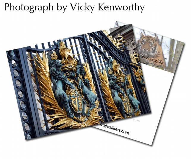 Gates ACEO Print Photography by VK