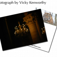 Chandelier ACEO Print Photography by VK