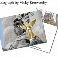 Statue ACEO Print Photography by VK