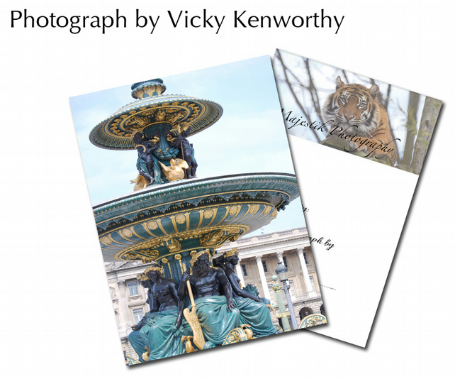 Fountain ACEO Print Photography by VK