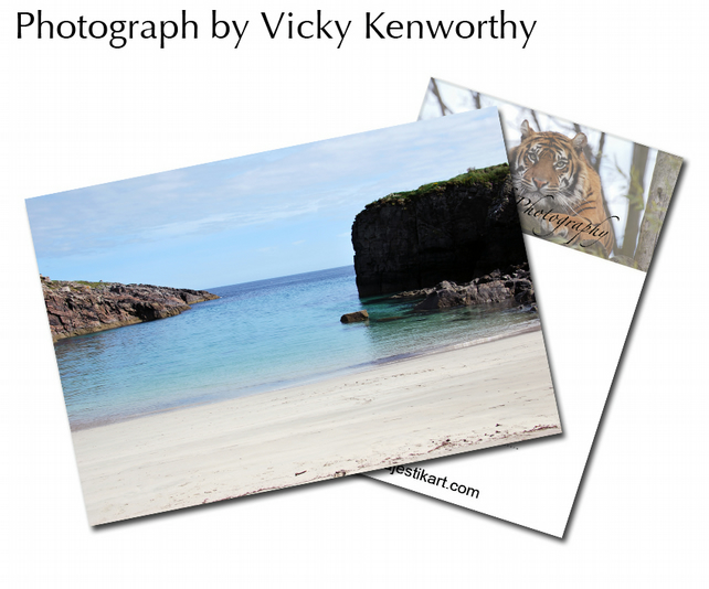Beach ACEO Print Photography by VK