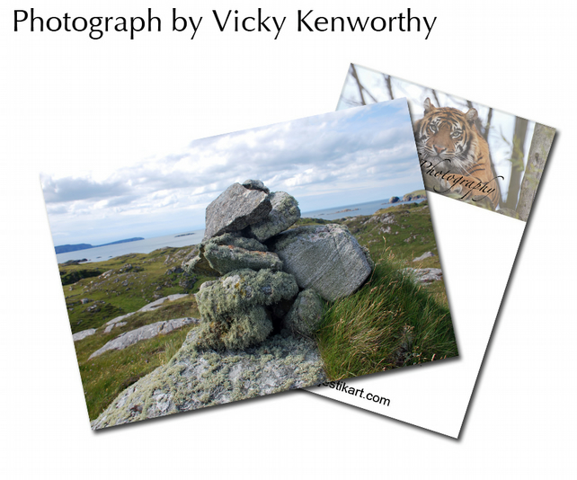 Rock ACEO Print Photography by VK