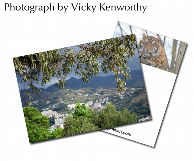 Town ACEO Print Photography by VK