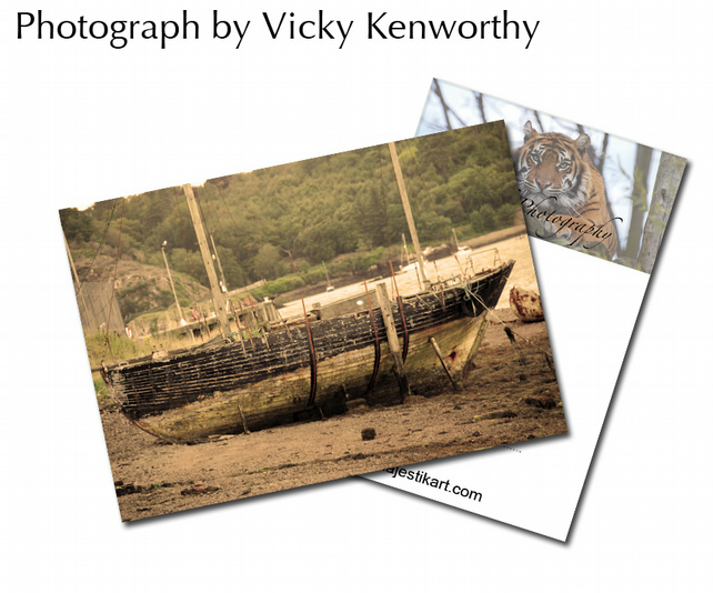 Boat ACEO Print Photography by VK