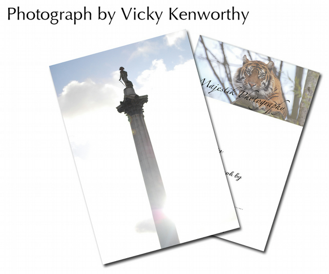Nelson's Column ACEO Print Photography by VK