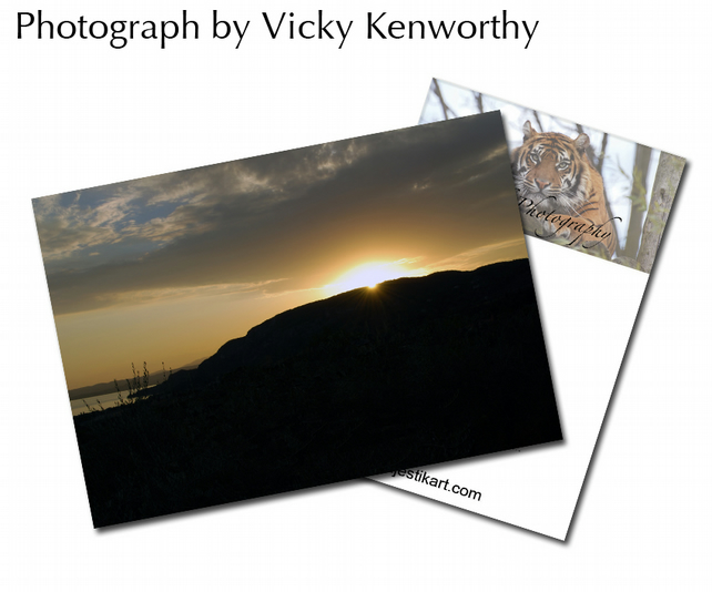 Sunset ACEO Print Photography by VK