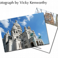 Sacre Coeur ACEO Print Photography by VK