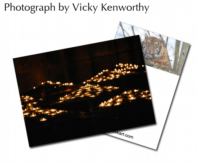 Candle ACEO Print Photography by VK