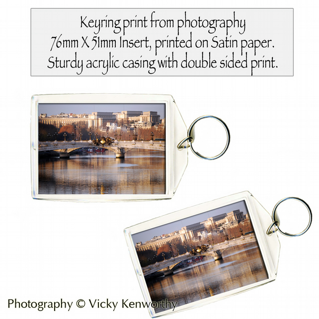 Paris Keyring Photography by VK