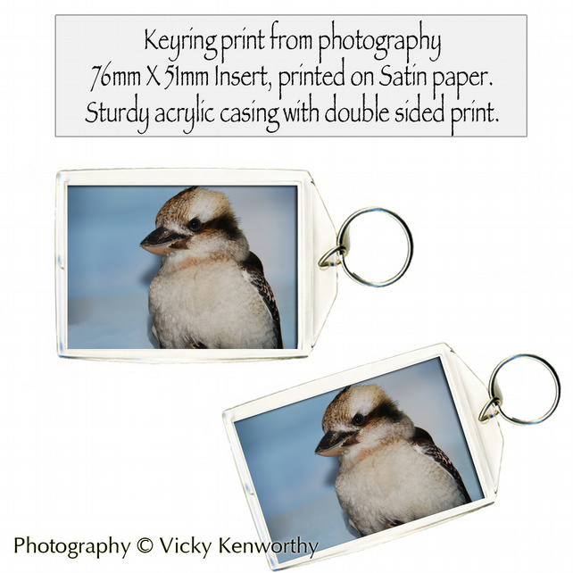 Kookaburra Keyring Photography by VK