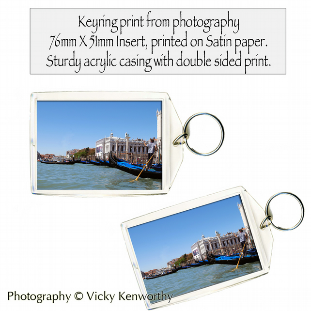 Venice Keyring Photography by VK