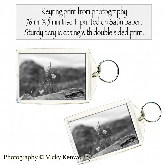Bluebell Keyring Photography by VK